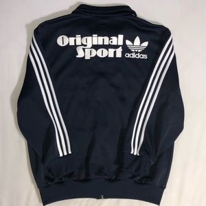 Vintage 80s Adidas Original Sport Jacket